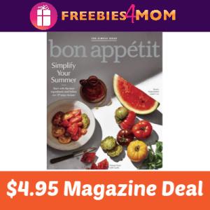 Magazine Deal: Bon Appetit $4.95
