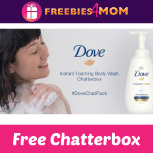 Dove Instant Foaming Body Wash Chatterbox