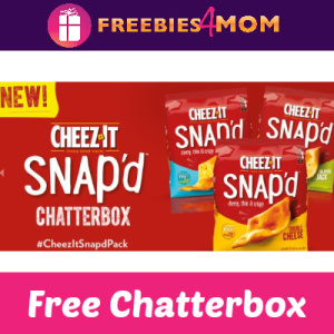 Free Cheez-It Snap'd Chatterbox