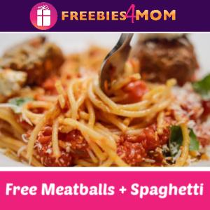 Free Meatballs & Spaghetti at Romano's