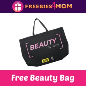 Free Beauty Bag + Samples (first 75,000)