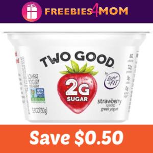 Coupon: Save $0.50 on Two Good Greek Yogurt