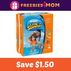Coupon: Save $1.50 on Huggies Little Swimmers
