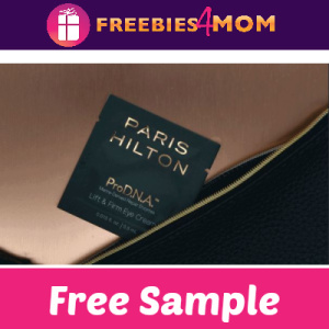 Free Sample Paris Hilton Skincare