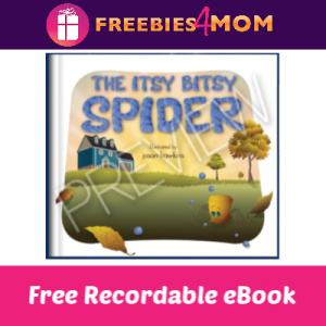 Record a Reading of The Itsy Bitsy Spider