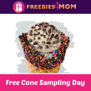 Free Cone Sampling Day at Baskin Robbins 4/7