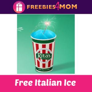 Free Rita's Italian Ice May 3