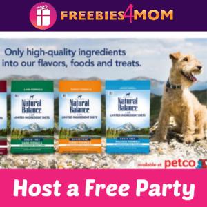 Free Natural Balance Pet Food House Party