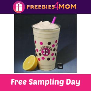 Free Elevenade Freeze Samples at Baskin Robbins