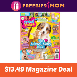 Magazine Deal: Animal Tales $13.49
