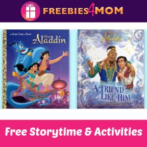Aladdin Storytime at Barnes & Noble