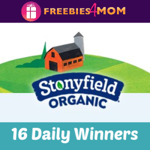 Sweeps Stonyfield Earth Month