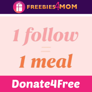 Donate4Free: DoorDash Donates for New Follows