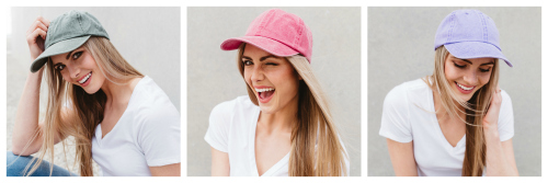 $12 Colorful Dad Hats ($20 value)