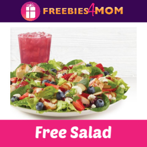 Free Wendy's Berry Burst Chicken Salad