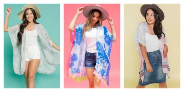 Kimonos 2 for $24 ($50 Value)