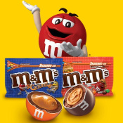 M&M's Caramel + Peanut Butter