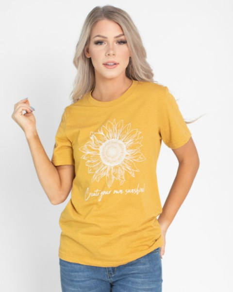 Wildflower Graphic Tees $16.95