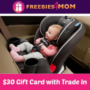 Get a $30 Walmart Gift Card, Car Seat Trade-In