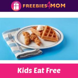 Kids Eat Free at IHOP 4-10 PM (thru 11/3)