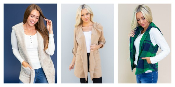 40% off Outerwear at Cents of Style