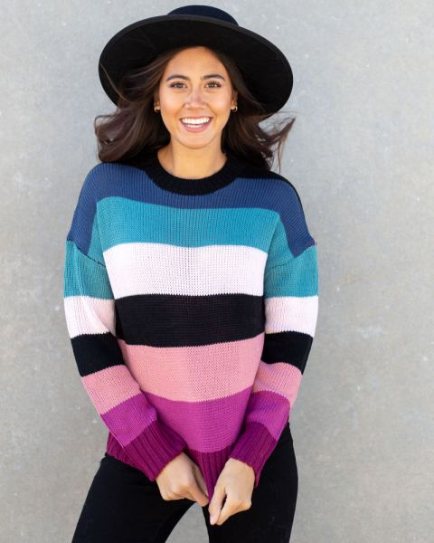 Striped Sweater Only $19.95 ($44.95 Value)