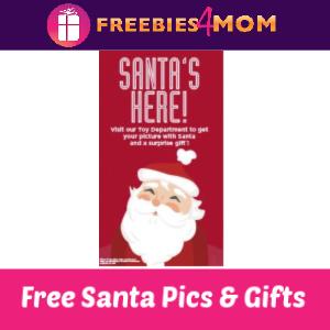 Free Santa Pics & Gift at Kohl's 11/24