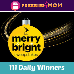 Sweeps Sprint Merry & Bright