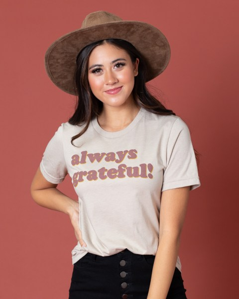 Free Grateful Tee w/Any $30 Order