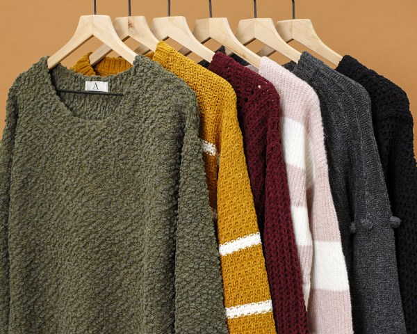 50% off Sweaters (Starting at $10)