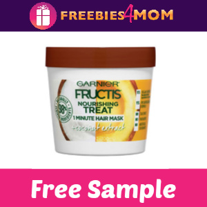 Free Sample Garnier Fructis Treats Hair Mask