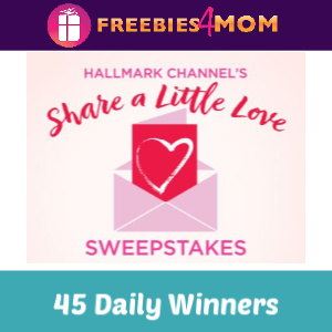 Sweeps Hallmark Channel's Share a Little Love