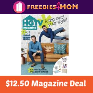 Magazine Deal: HGTV $12.50