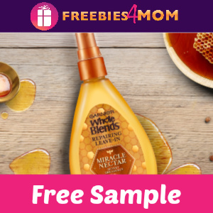Free Sample Garnier Miracle Nectar