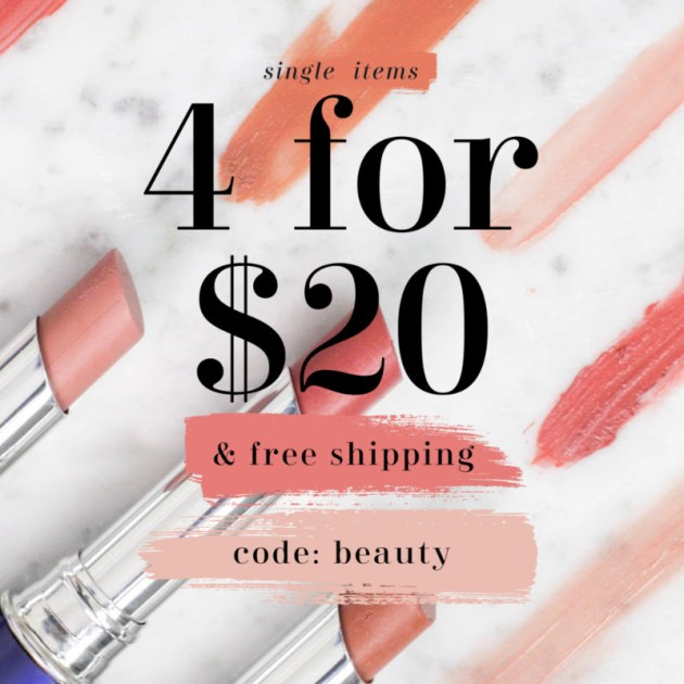 4 for $20 EMMA Makeup with Free Shipping