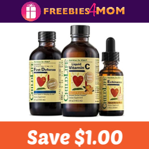 💊 Coupon: Save $1 on ChildLife Essentials