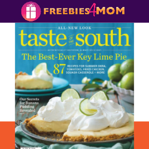 🍰Taste of the South Magazine $14.99