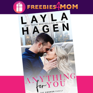 💜Free eBook: Anything For You ($3.99 value)