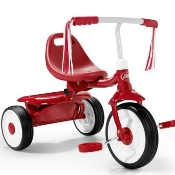 Radio Flyer Playing at Home