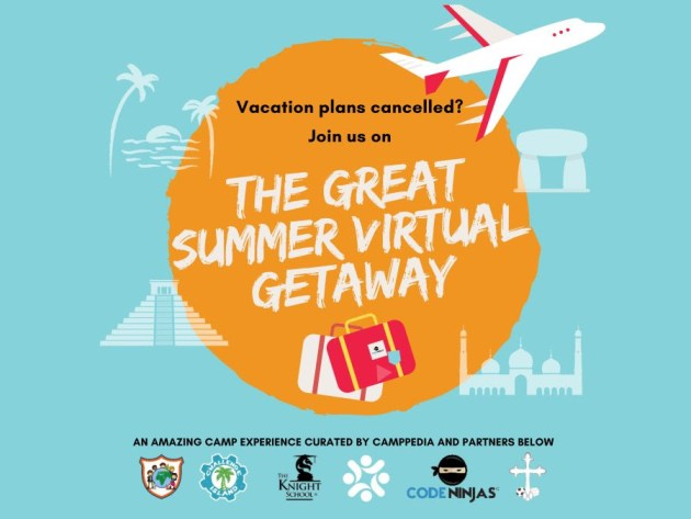 🍎Virtual STEAM Summer Getaway for kids 8-11