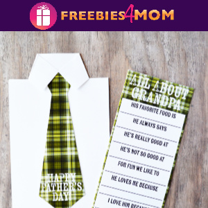 🍫Free Father's Day Candy Bar Wrapper (for Grandpa too!)