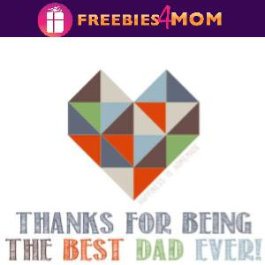 💙Free Printable Best Dad Ever Card