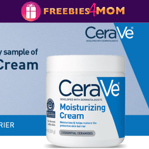 💦Free Sample CeraVe Moisturizing Cream