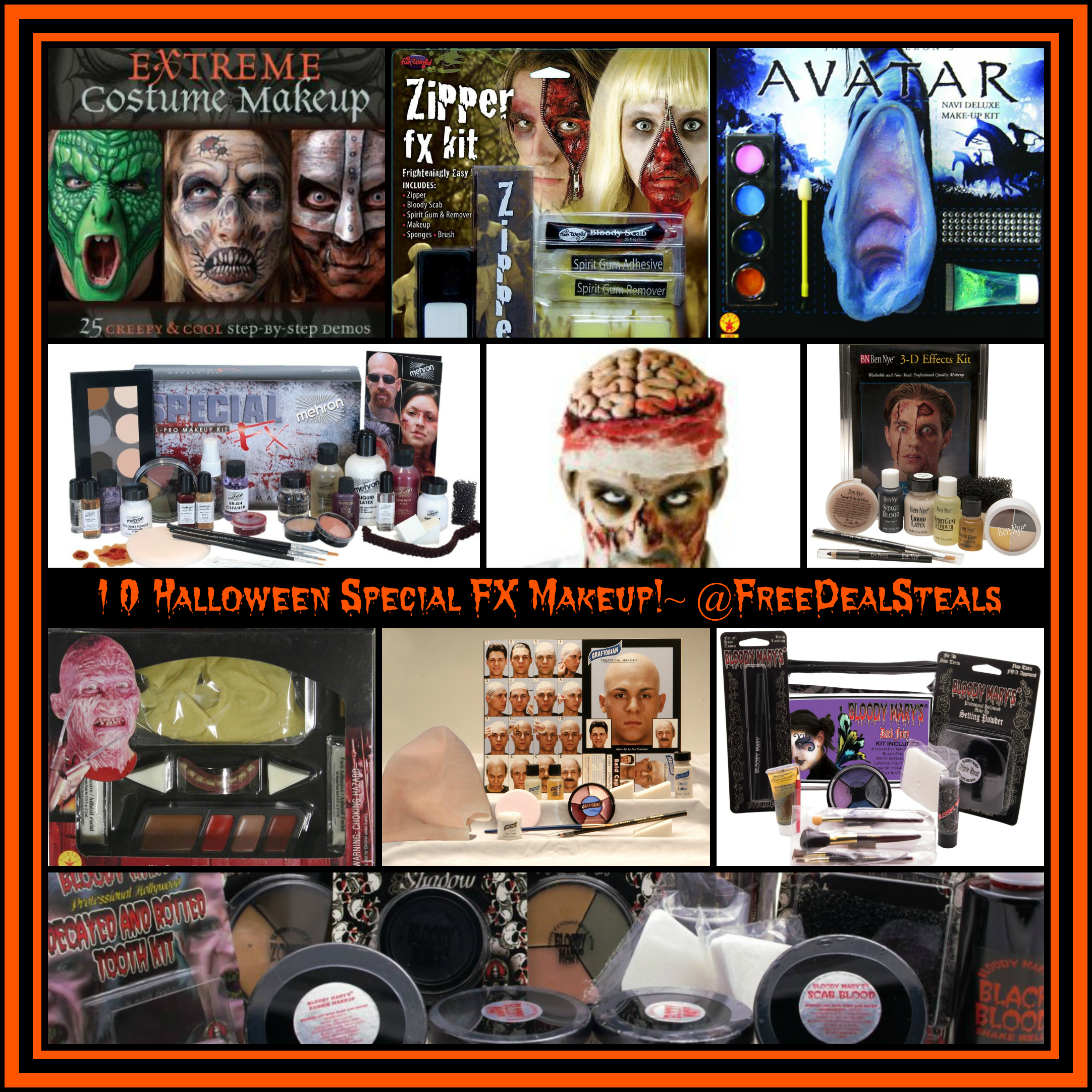10 Special FX Halloween Makeup Kits Tips Ideas! ~ Freebies Deals ...