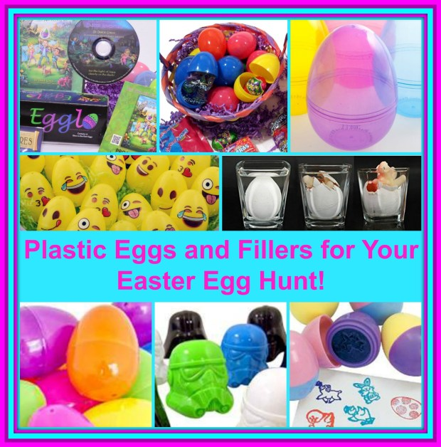 Easter Eggs and Fillers Collage