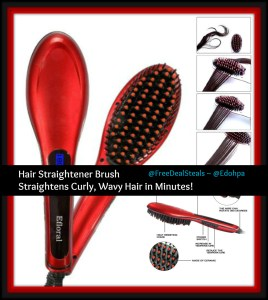 straightening brush