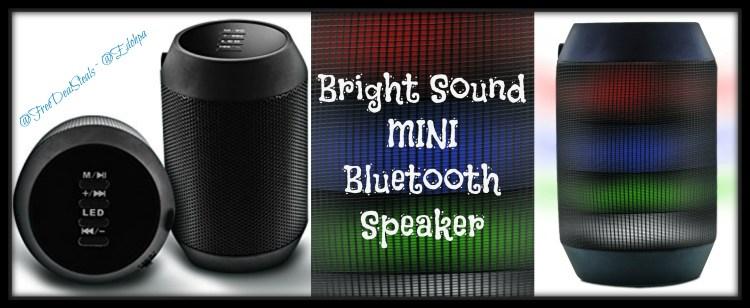 Mini Bluetooth Speaker Light Up3