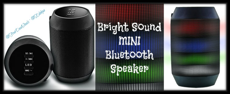 Mini Bluetooth Speaker Light Up3