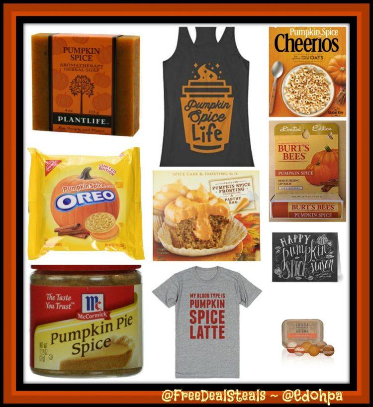 Pumpkin Spice Collage