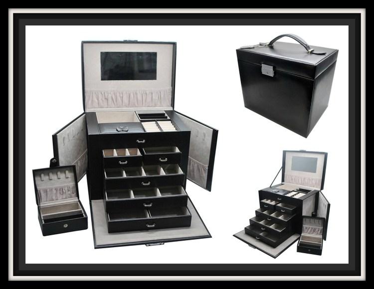 Leather Jewelry Box